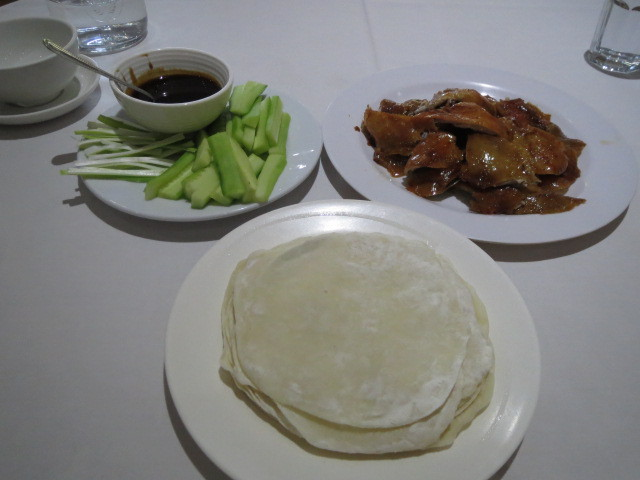 Ming's Palace, Peking Duck First Course, Adelaide