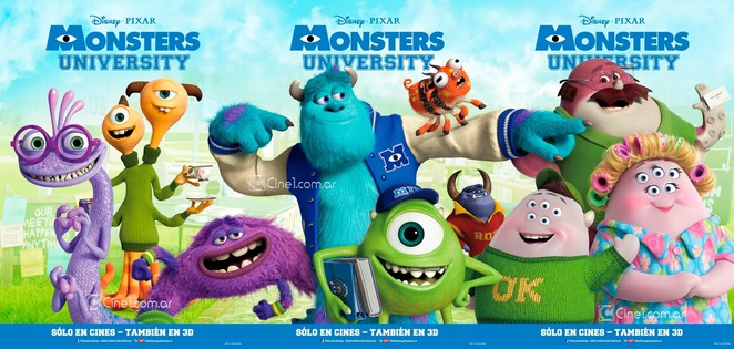 monster's university, movie