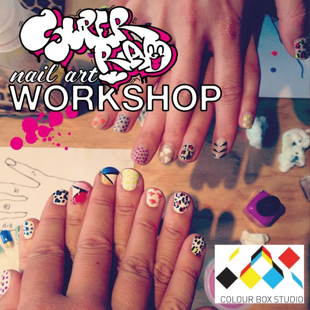 Nail Art at Colour Box Studio