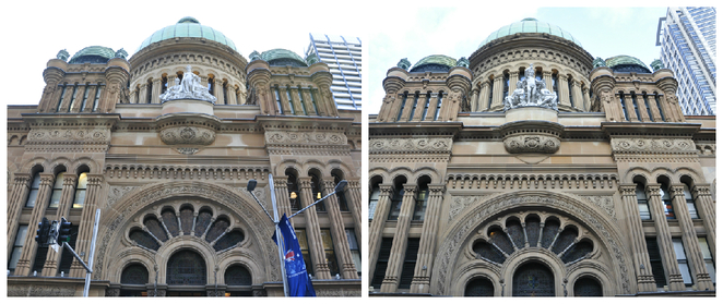 West and East Entrances of QVB (image courtesy Chetan Prusty)