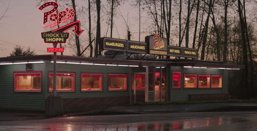 Riverdale pilot tv series review brisbane for Diner picture