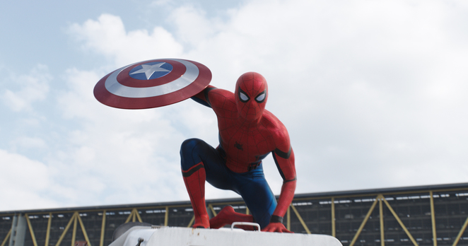 Spider-man in MARVEL's Captain America: Civil War