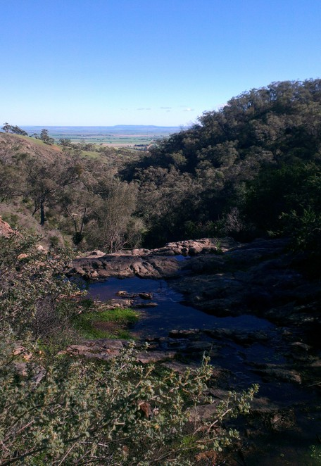 Spring Gully Conservation Park, Cascades Waterfall, Clare Valley Lookout