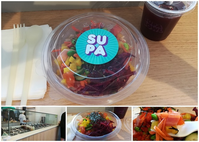 supa bowl, canberra, ACT, poke bowls, no name lane, alinga street, takeaway, healthy, healthy takeaway foods, dinner, lunch, sashimi, sushi, salads,