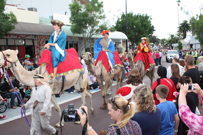 The three Kings at the last year's pageant