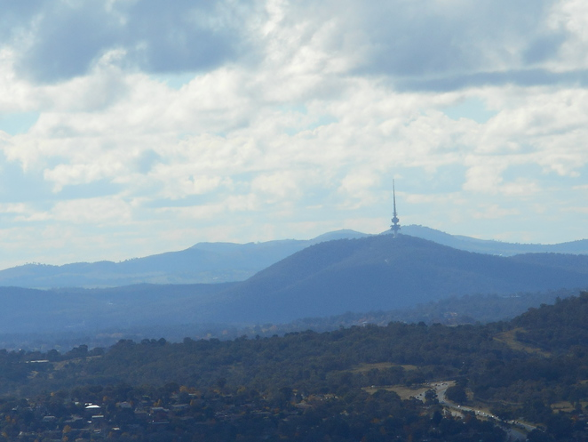 Tuggeranong Hill Walking Trails, canberra nature park, ACT, walks, views, dog walking, mountain biking