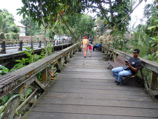 Ubud bridge