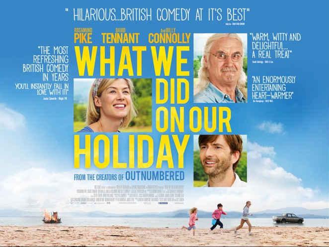 What we did in our Holiday. Film Poster