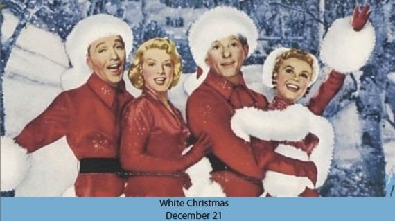 white christmas, white christmas film, christmas, the palace, kino cinemas, collins st, melbourne movies, cult movies, cult, fun, events in melbourne
