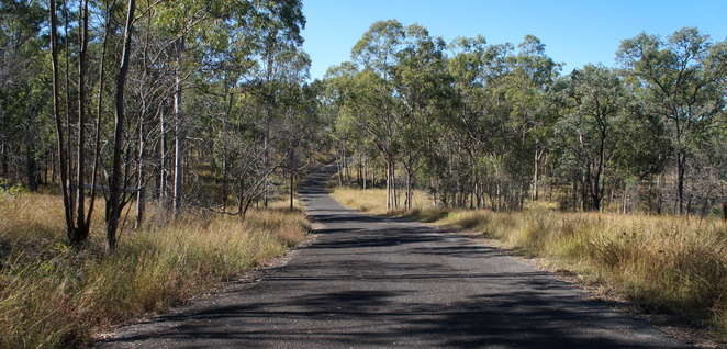 The first 2 kms of the walk is along a boring bitumen road. Don't worry, it gets better.
