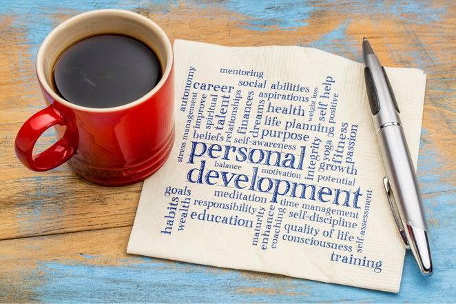 Work on your self development while at home