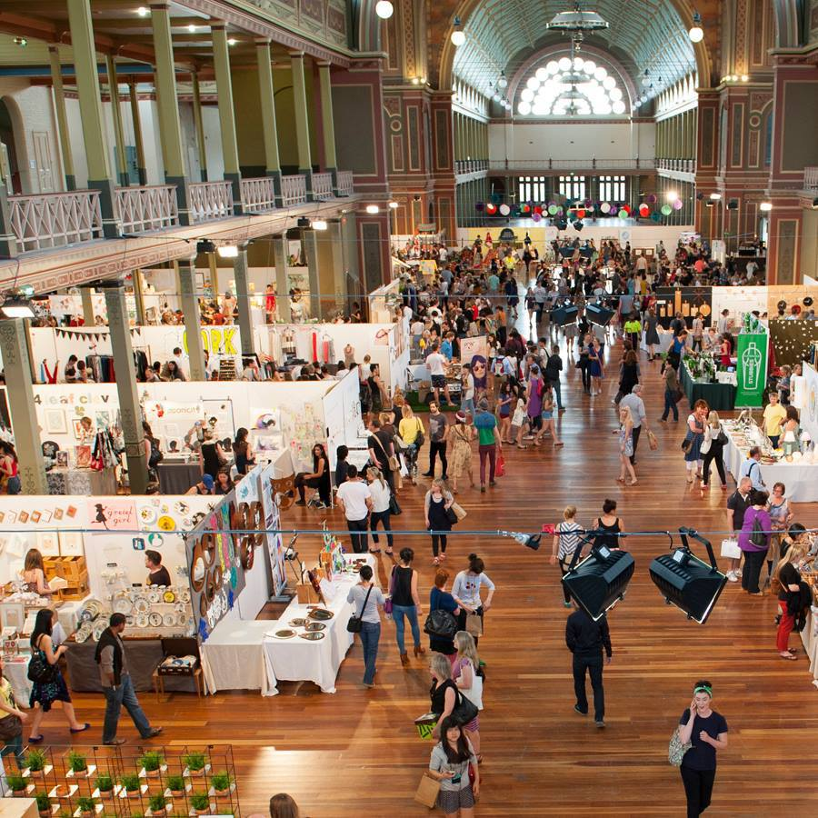 Melbourne Design Market Royal Exhibition Building