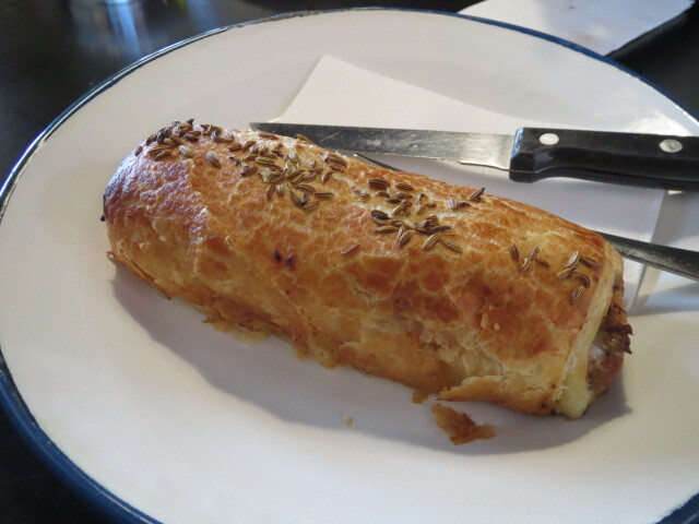 Abbots and Kinney, Croydon, Pork and Fennel Sausage Roll, Adelaide