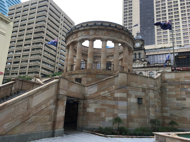 Anzac square memorial gallery galleries free guided tour