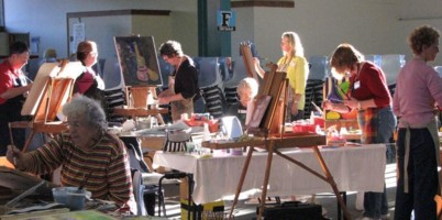 art in action, art workshops, oil painting workshops, watercolour workshops