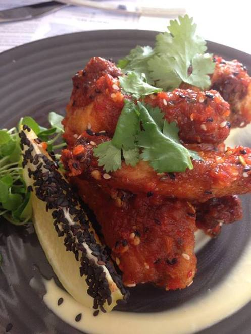 Bang Bang Chicken Wings BSKT Healthy chilli honey glaze