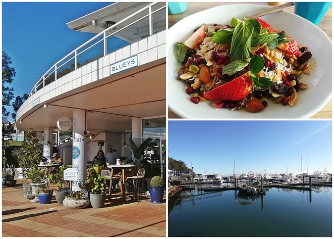 blueys, nelson bay, ports stephens, healthy, cafes, views, newcastle, water views, near dolphin cruises, NSW,