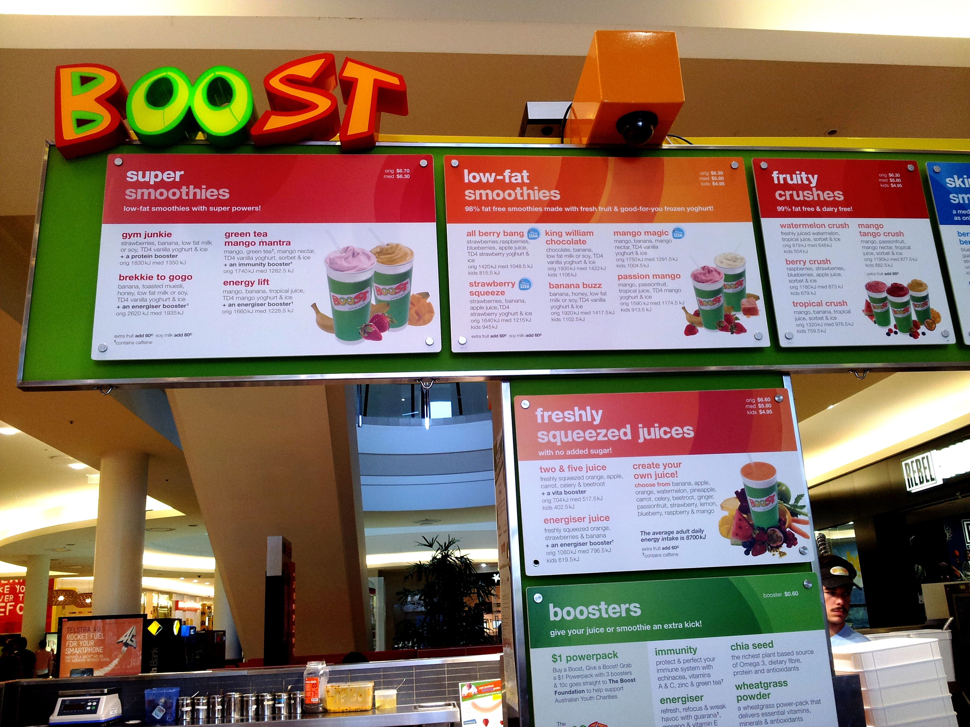 boost juice Previous next go to slide 1 boost global find as on facebook jobs  terms & conditions contact.
