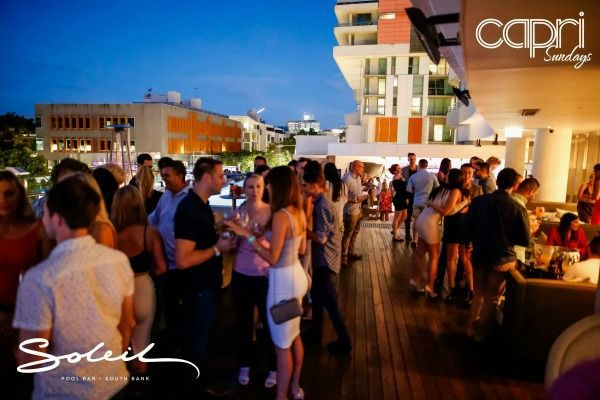 brisbane rooftop bars, best rooftop bars brisbane, soleil, soleil rooftop bar, soleil pool bar, rooftop bars south bank