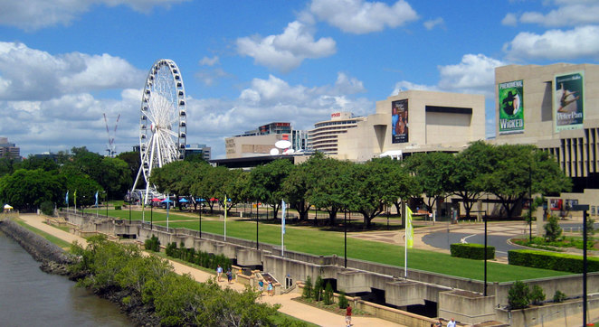 South Bank and QPAC