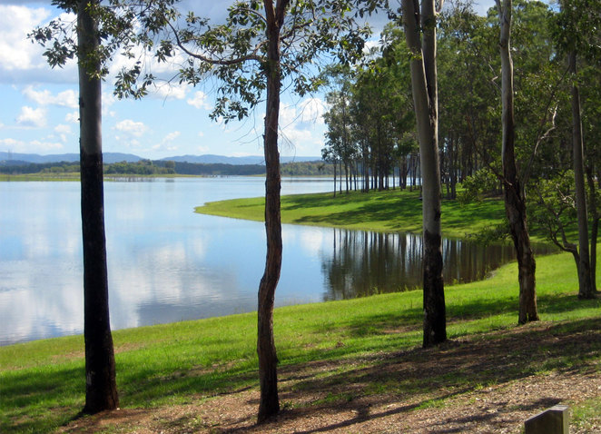 Bullocky Rest at Lake Samsonvale is a quiet place for a barbecue