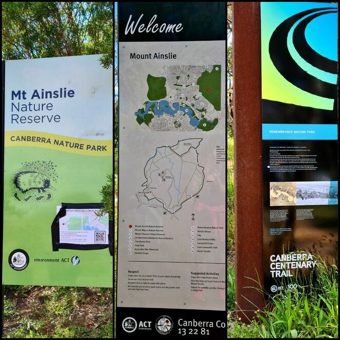 Canberra, nature, walk, bush, history, lookouts, exercise, views