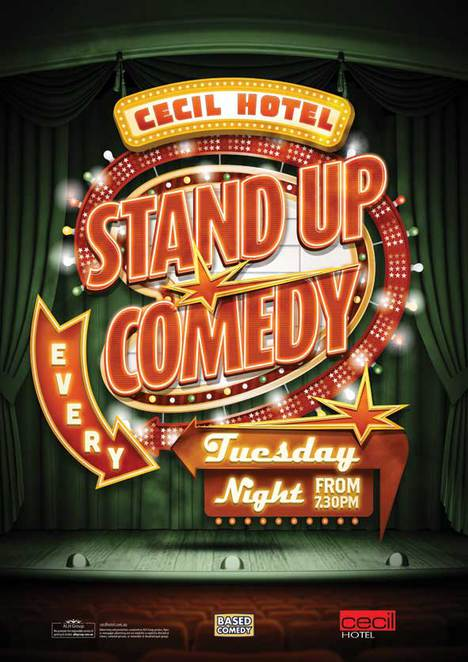 comedy cecil stand up