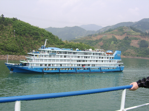 Cruiseboat on the Yangtze River