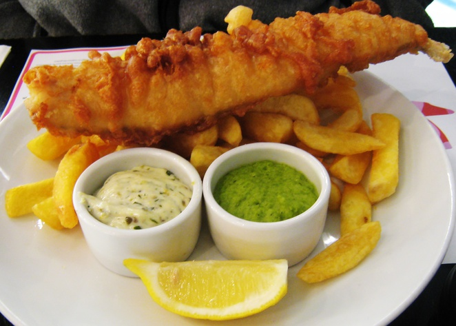 English fish and chips in perth