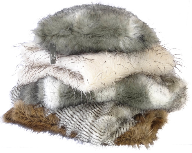 Feter Fur Throws