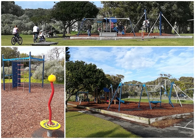 fingal bay playground, fingal bay, playgrounds, near nelson bay, shoal bay, port stephens, best playgrounds in port stephen, flying fox, NSW, parkrun, longboat cafe, fingal bay surf club,