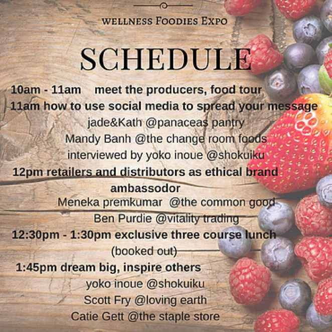 First Annual Wellness Foodie Expo