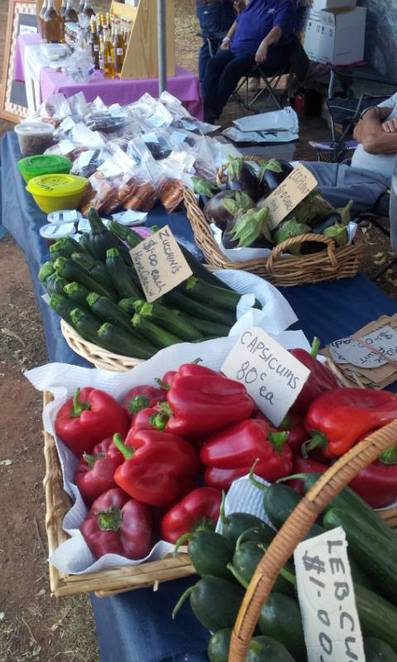 fresh produce, fresh food, organic food, markets, country markets, Wirrabara Producers Market, southern Flinders Ranges, South Australia