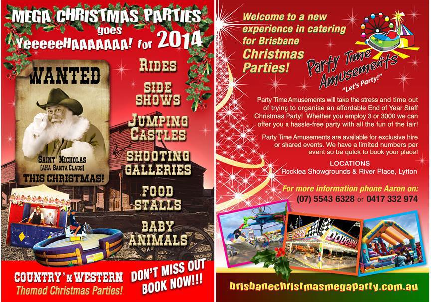 Staff Christmas Party Ideas Brisbane Part - 22: Brisbane Country Christmas Mega Parties