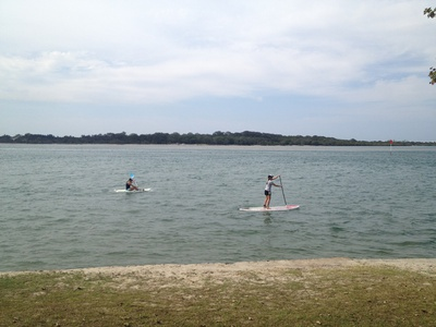 Kayaking and standup paddleboardind are popular activities for the Maroochy River