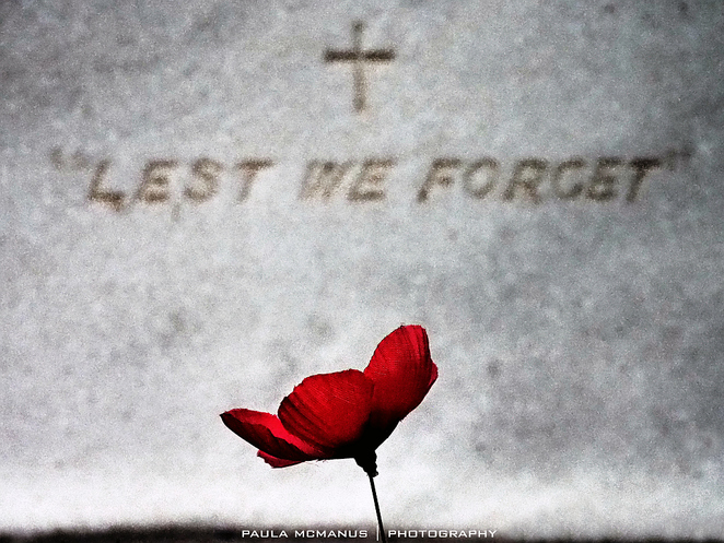 Lest we forget ANZAC