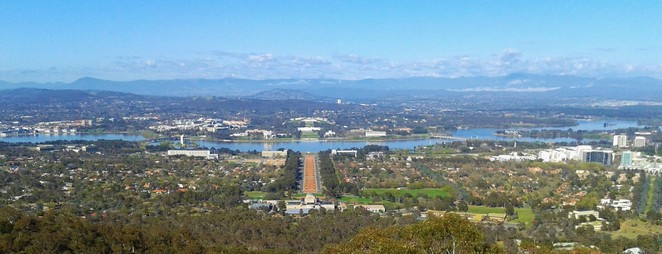 mount ainslie, canberra, canberra tracks, limestone plains, self drives, lookouts,