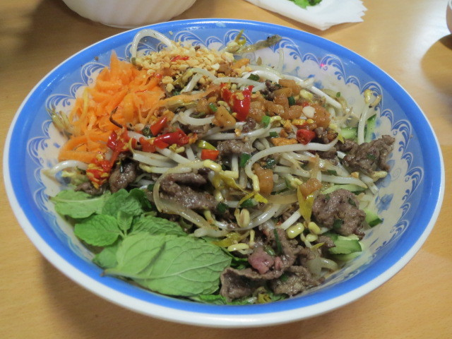 Mr Viet, Central Market, Beef Bun Bowl, Adelaide