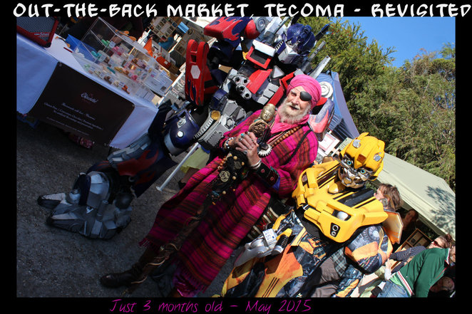 out the back market, tecoma, the wizard of belgrave, indie market, tecoma traders association, superheroes, melbourne transformers, prahran ironman, bumble bee, craft,vintage, indie market place, crafts, produce, tecoma, out the back market, craft, coffee, cakes