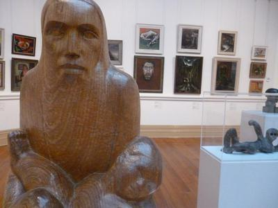 'Abraham' at the Art Gallery of Ballarat
