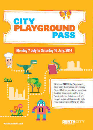 perth city playground pass