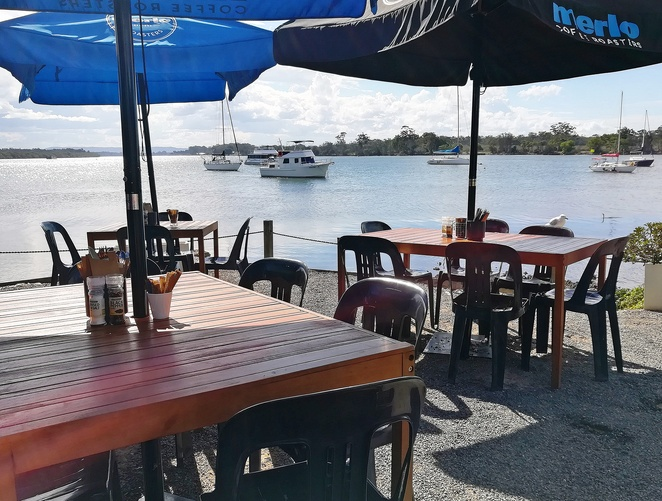 rivermark cafe, port macquarie, NSW, cafes, water views, waterfront, water views, hastings river, NSW, lunch, breakfast,