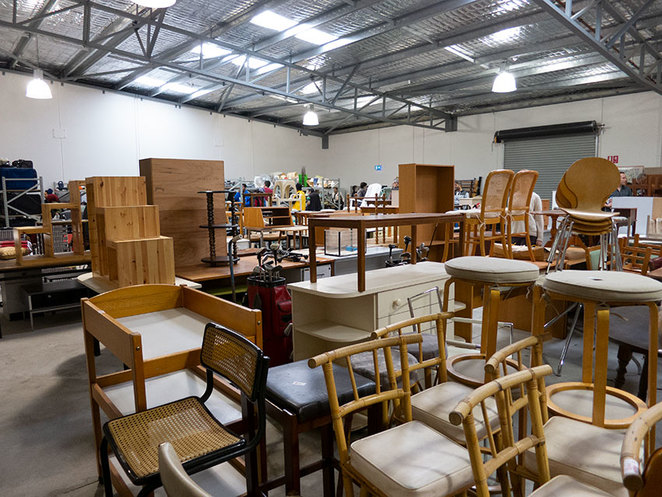 Scroungers Massive Winter Garage Sale 2018 Furniture at Paraquad