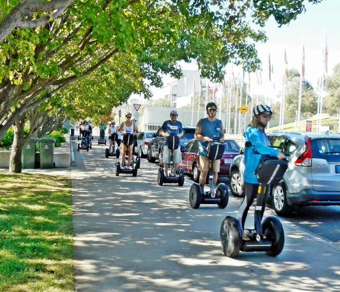 segway, things to do with teenagers, canberra, ACT, segway, pokemon go, rollerskating, segway tours,