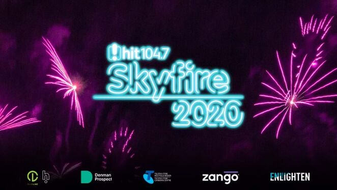 skyfire, 2020, canberra, whats on, fireworks, events, canberra, things to do, ACT, festivals, 104.7 radio station, commonwealth park,