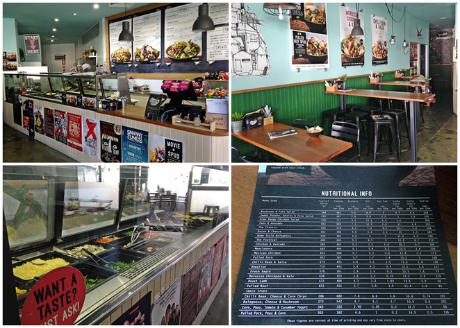 spud bar, canberra, ACT, healthy takeaways, civic, healthy food, city walk, lunch