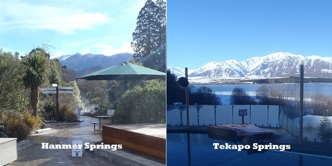 Tekapo Hanmer Hot Springs Christchurch