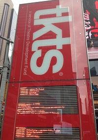TKTS, Time Square, Broadway Show, New York, Cheap Tickets
