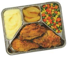 tv dinner, frozen meals, delicious, discounted