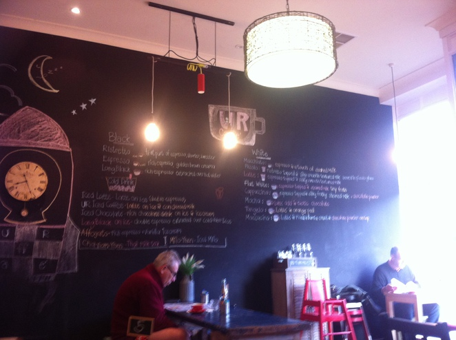 Daily Specials at UR Caffe, North Adelaide